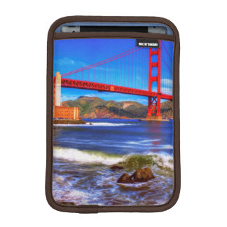 This is a 3 shot HDR image of the Golden Gate iPad Mini Sleeves