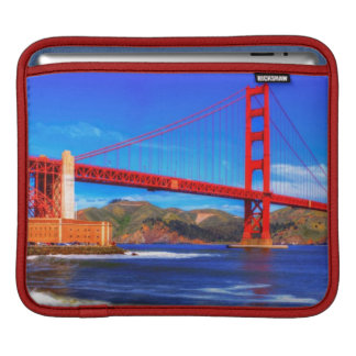 This is a 3 shot HDR image of the Golden Gate iPad Sleeve