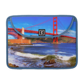 This is a 3 shot HDR image of the Golden Gate MacBook Pro Sleeve