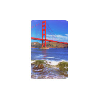 This is a 3 shot HDR image of the Golden Gate Pocket Moleskine Notebook