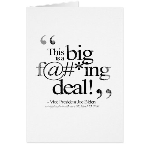 This is a Big F-ing Deal Faded.png Greeting Card