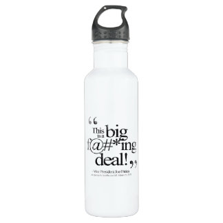 This is a Big F-ing Deal Faded.png 24oz Water Bottle