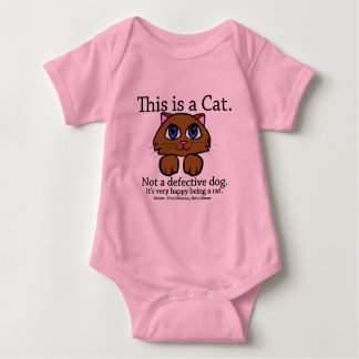 This is a Cat Baby Bodysuit