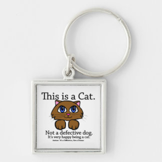 This is a Cat Keychain