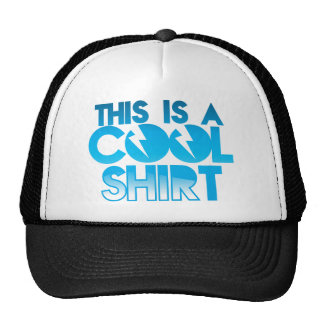 This is a cool shirt hats