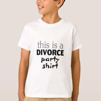 this is a Divorce party shirt.png T-Shirt