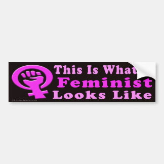 This Is A Feminist Bumper Sticker