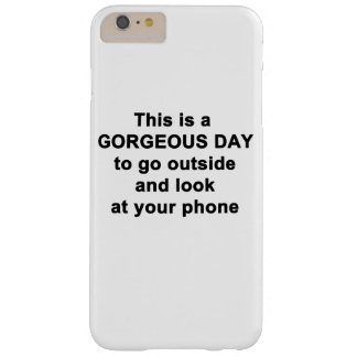 This is a Gorgeous Day Barely There iPhone 6 Plus Case