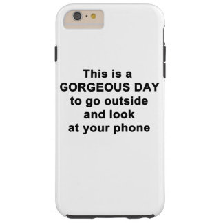 This is a Gorgeous Day Tough iPhone 6 Plus Case