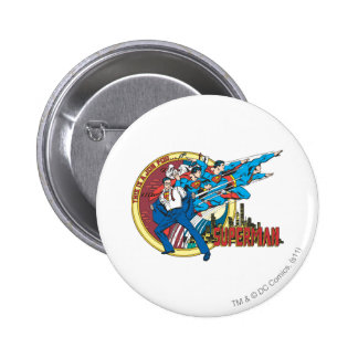 This is a job for�Superman 2 Inch Round Button
