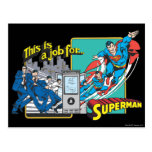 This is a job for�Superman 2 Postcard