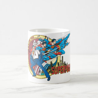 This is a job for�Superman Classic White Coffee Mug