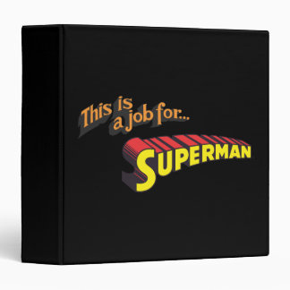 This is a job for�Superman Text Binders