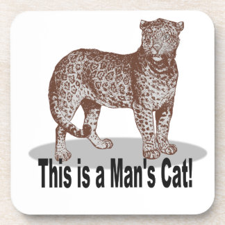 This is-a Man's Cat! Multi Products Selected Beverage Coasters