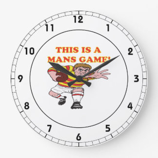 This Is A Mans Game Clock