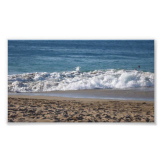 This is a photograph of my favorite beach so far i