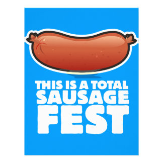 This is a Total Sausage Fest BBQ Letterhead