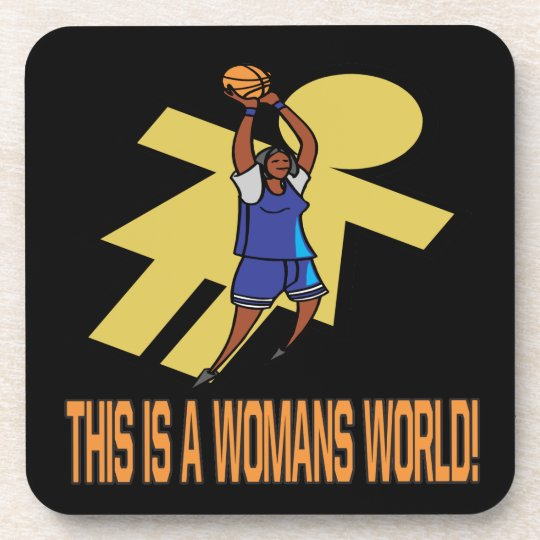This Is A Womans World Coaster
