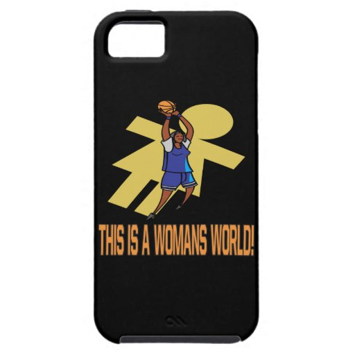 This Is A Womans World iPhone 5 Cover