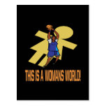 This Is A Womans World Postcard