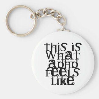 This is ADHD Keychain