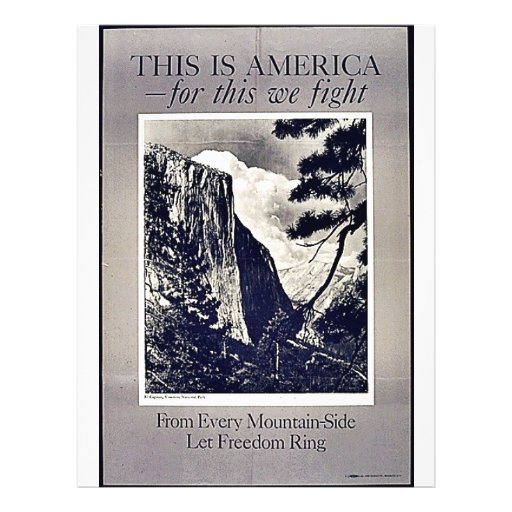 """This Is America 8.5"""" X 11"""" Flyer"""
