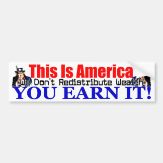 This Is America! Car Bumper Sticker