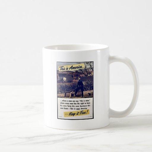 This Is America Keep It Free! Mug