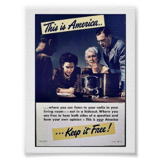 This Is America Keep It Free Posters