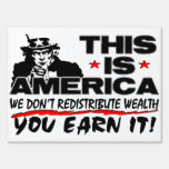 This is America! Lawn Sign