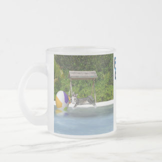 "This is as close to 'FETCH"" as I'll ever get! 10 Oz Frosted Glass Coffee Mug"
