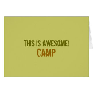 This is Awesome! Notecard Stationery Note Card