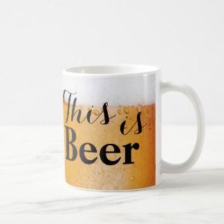 This is Beer Coffee Mug