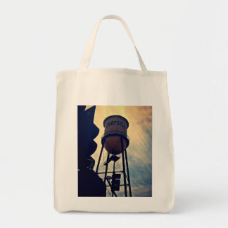 This is Campbell, CA Canvas Grocery Tote Grocery Tote Bag