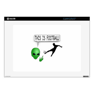 """This Is Football 15"""" Laptop Decal"""