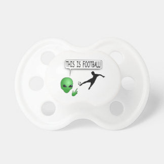 This Is Football Pacifier