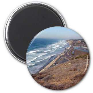 This Is From Torrey Pines State Park 2 Inch Round Magnet