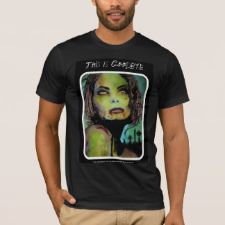 'This is Goodbye' American Apparel Zombie Shirt