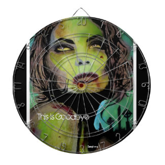 'This is Goodbye' (zombie) Dart Board