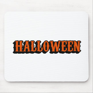 this is halloween mouse pad