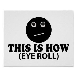 eye rolling eye muscle exercise - this is how i roll
