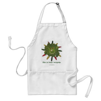This is How I Escarole. Adult Apron