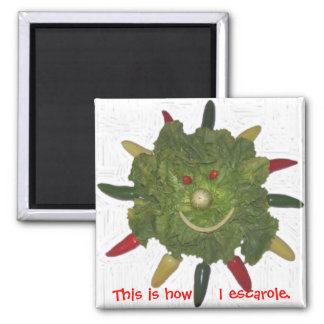 This is How I Escarole. Magnets