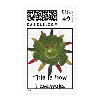 This is How I Escarole. Postage Stamp