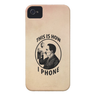 This Is How I  Phone Case-Mate iPhone 4 Case