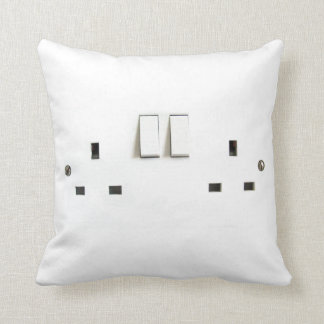 This is how I recharge! Funny electrical outlet Throw Pillow