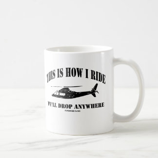 This Is How I Ride Coast Gaurd Chopper Mugs