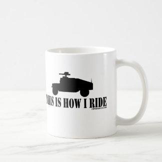 This Is How I Ride Humvee Mug D1