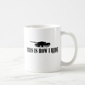This Is How I Ride Tank Mug