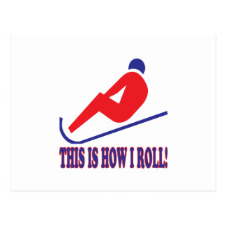 This Is How I Roll 2 Postcard